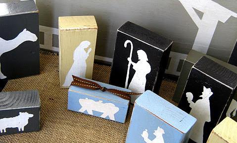 Pesebre de Belen o Natividad (madera o carton)