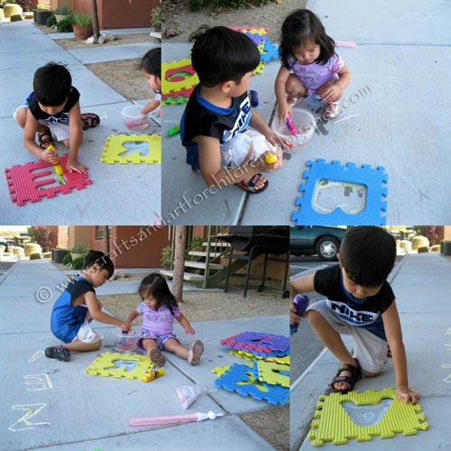 Preschool Tracing Activity