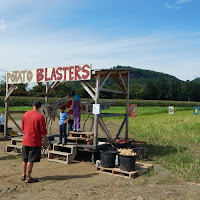 Potato Blaster at Mike's Maze Warner Farm Sunderland MA_New England Fall Events
