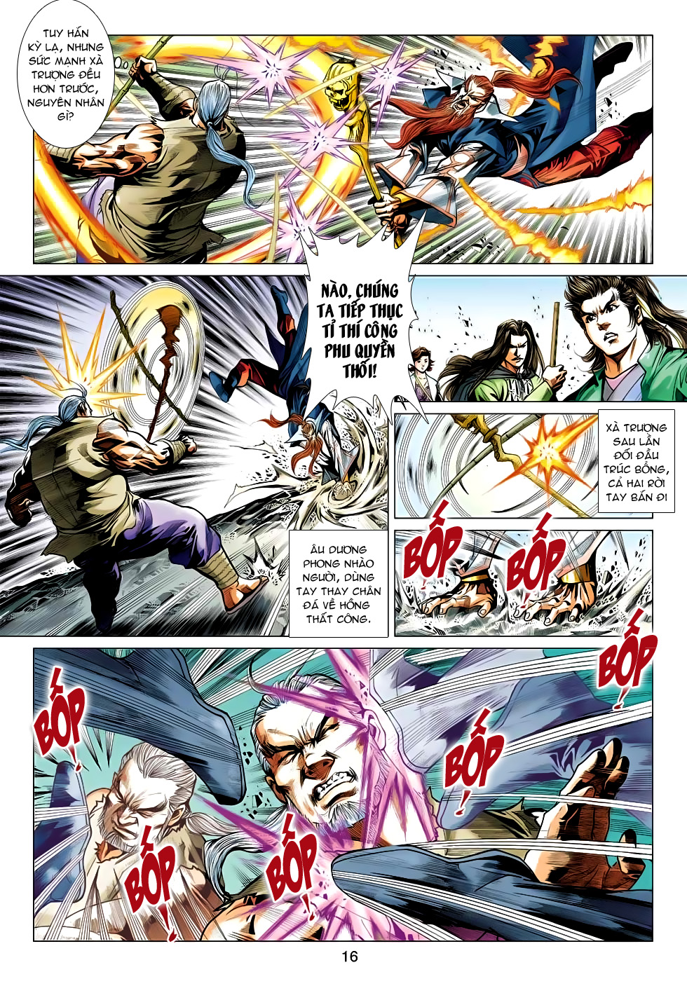 Xạ Điêu Anh Hùng Truyện chap 100 – End Trang 16 - Mangak.info
