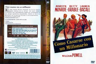 Carátula:   Cómo casarse con un millonario | How to Marry a Millionaire DVD2