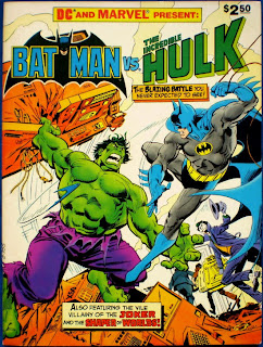 Comic Batman vs Hulk