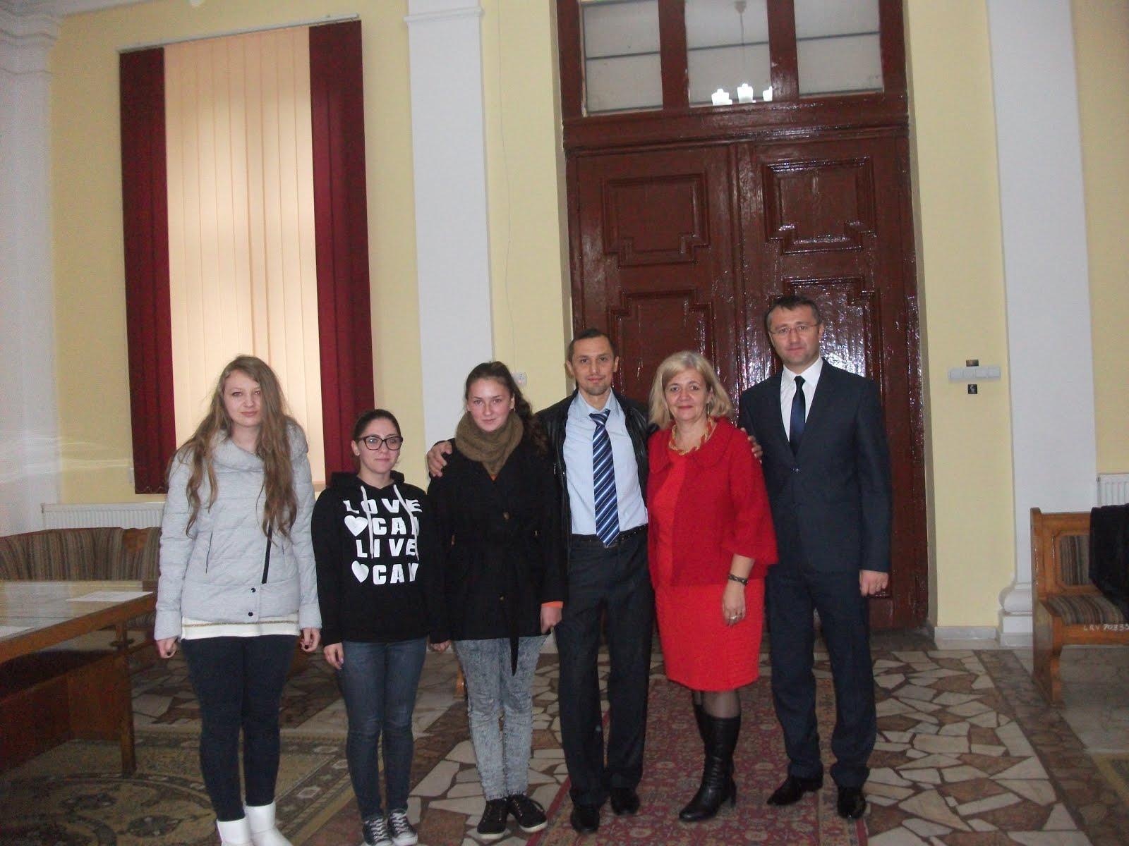 Deschiderea Centrului de Excelenţă - Roman, 17.10.2015...