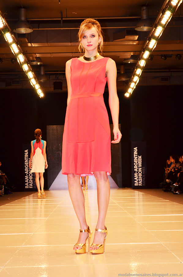 Laurencio Adot primavera verano 2014 vestidos.
