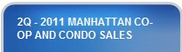 2Q - 2011 MANHATTAN CO-OP and CONDO SALES