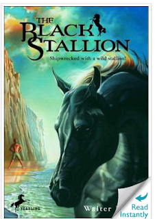 photo of The Black Stallion by Walter Farley, summer reading, books for kids, Teacher Park, Ruth S.