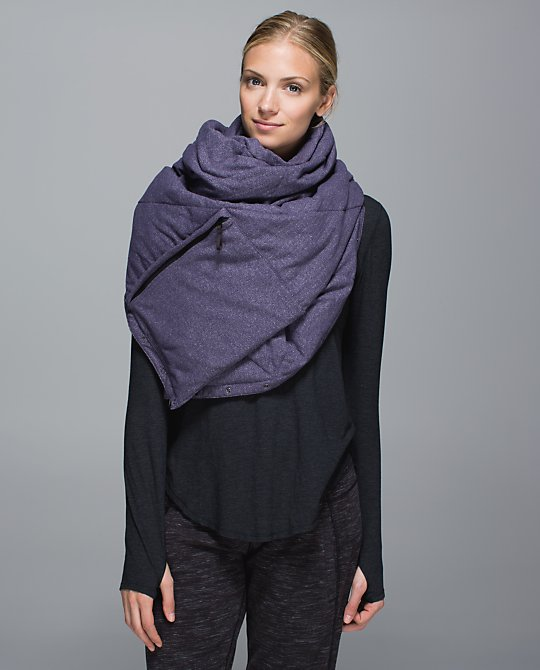 lululemon fluffed up scarf