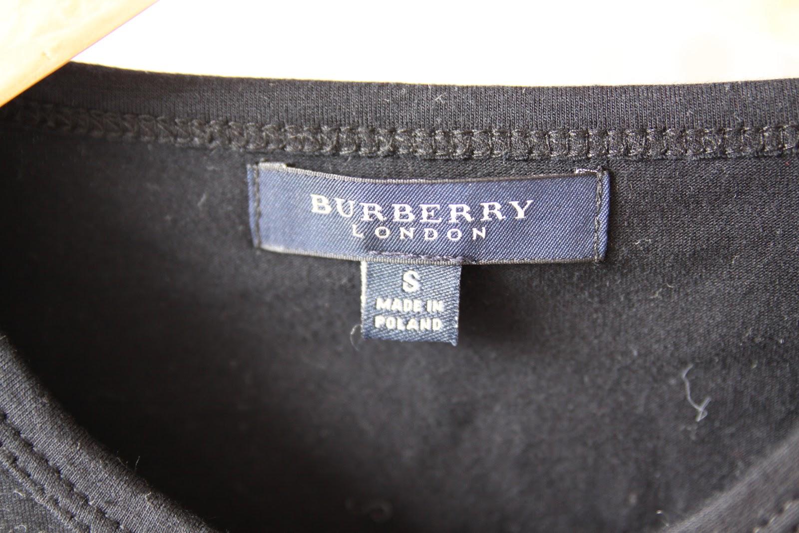 Shop in my closet d bardeur burberry t s - Paypal remboursement frais de port ...