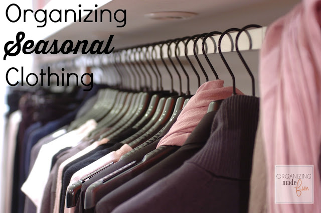 Organizing Seasonal Clothing :: OrganizingMadeFun.com