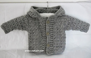 FREE Crochet Patterns-Crochet Patterns- Baby-Boy-Cardigan-patterns-Easy-Hooded-Crochet-Cardigan-Pattern-FREE
