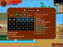 item trong game ninja school android