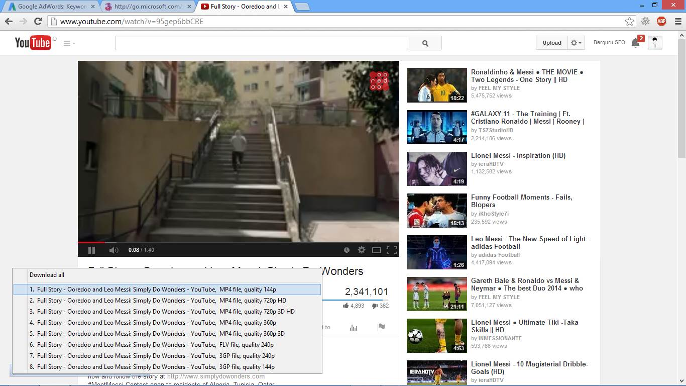 Cara Download Video di YouTube Dengan Software 2
