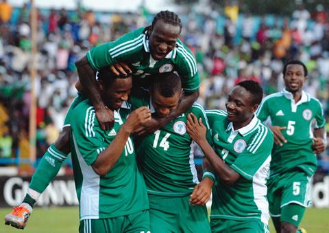Nigeria super eagles crush Liberia