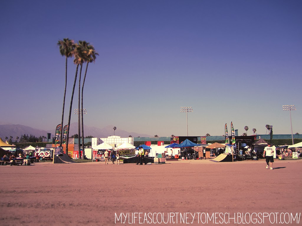 Vans Warped Tour 2013 Pomona California