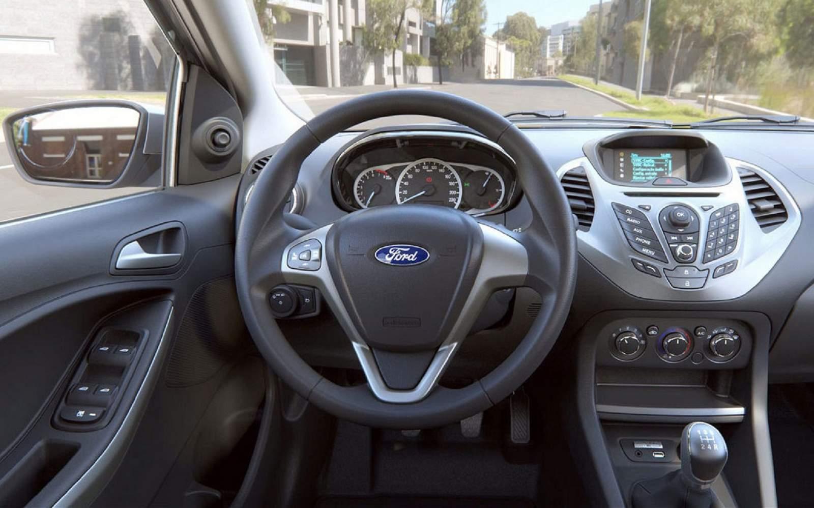Novo Ford Ka Sel  Interior