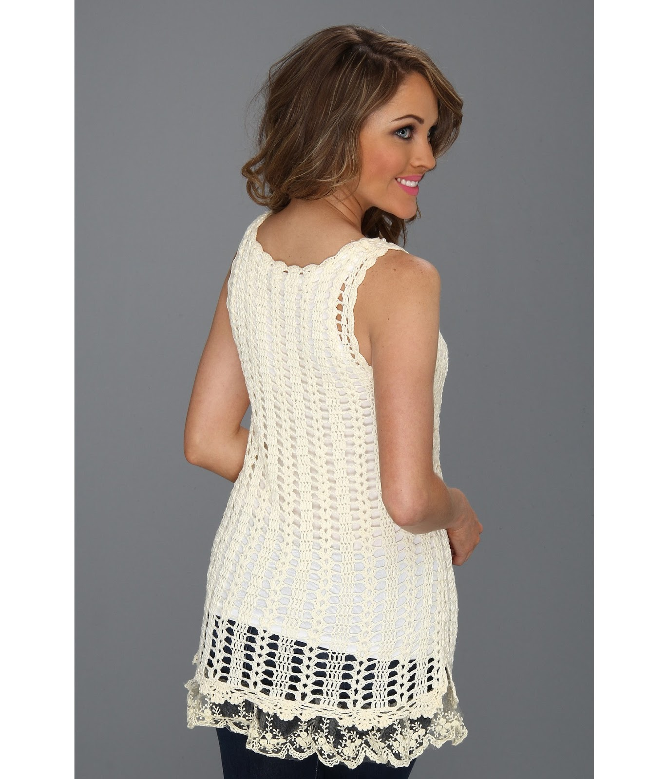 crochet top for ladies