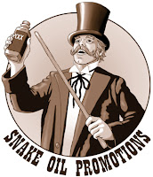 snake oil promotions salesman
