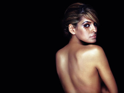 Eva Mendes Naked Wallpaper