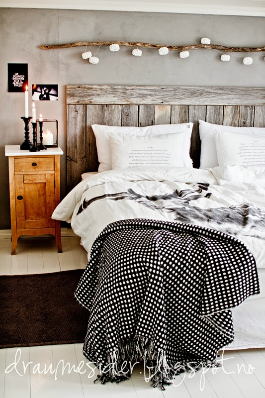 Draumesidene soverom bedroom by nord for Rustic bedroom ideas pinterest