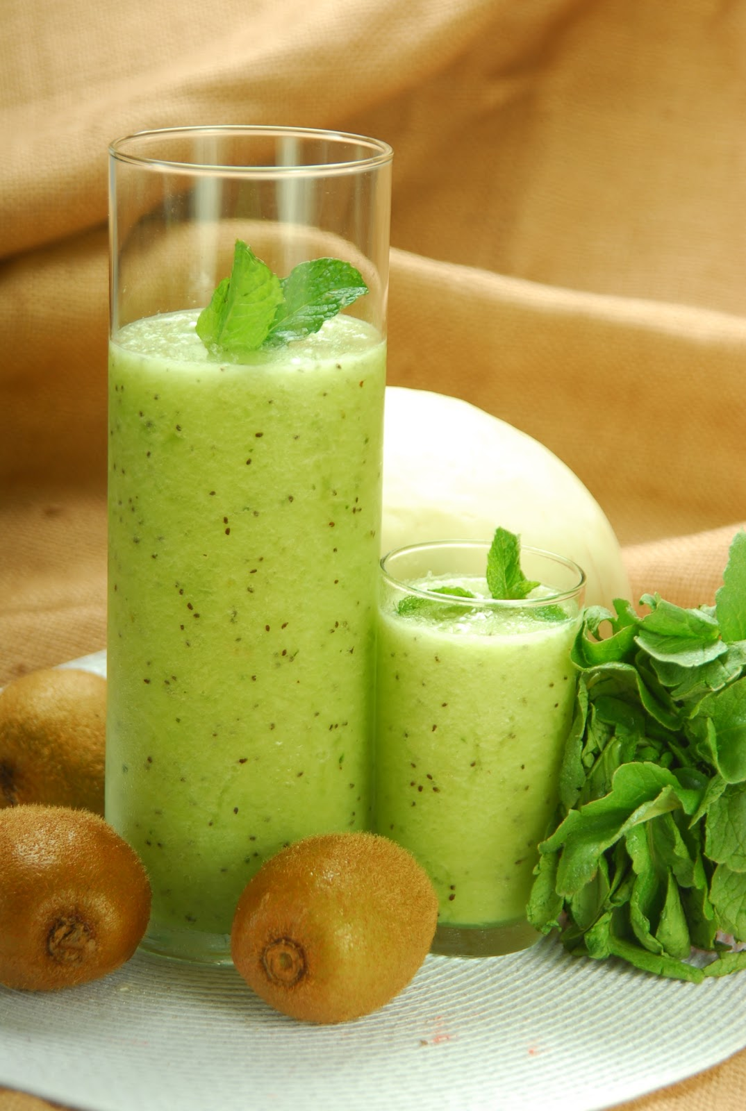 Isla Kulinarya: Quench your thirst, try a HONEYDEW KIWI COOLER