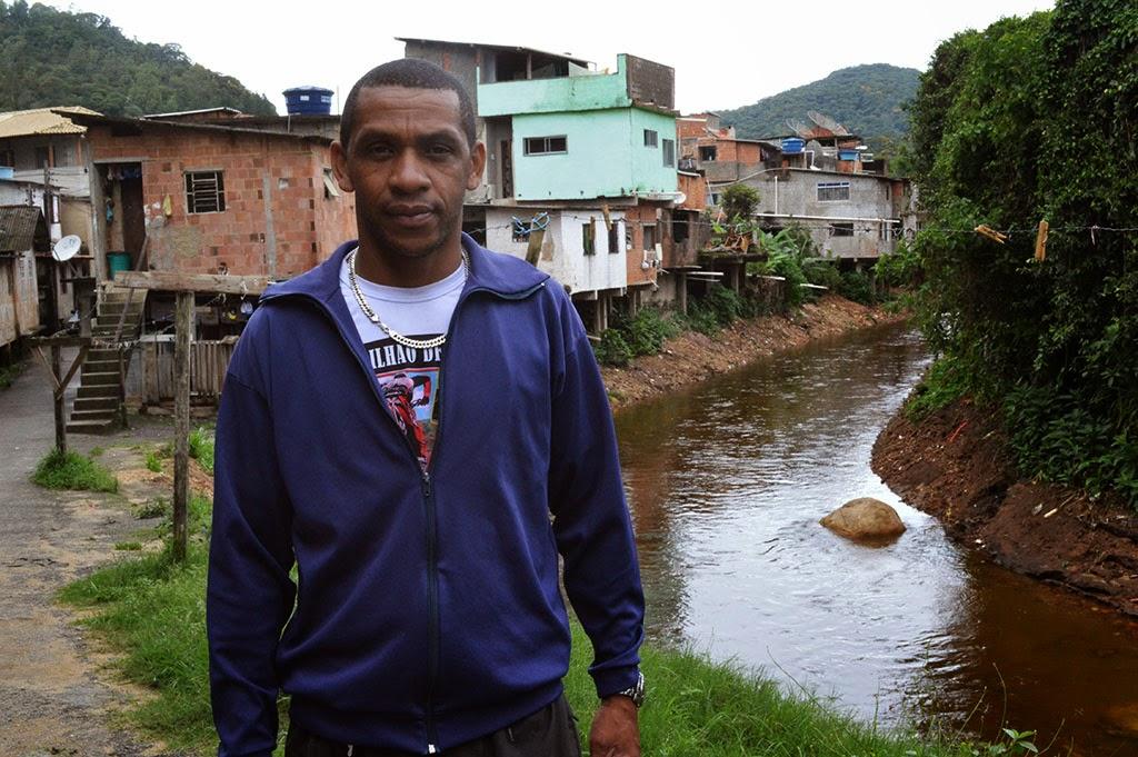 Morador Rogério dos Santos Araújo: moradores unidos em prol da prevenção