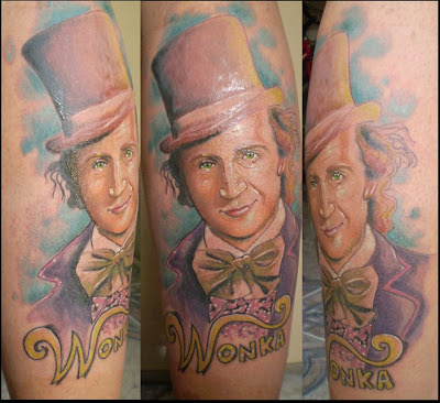 Tatuaje Willy Wonka