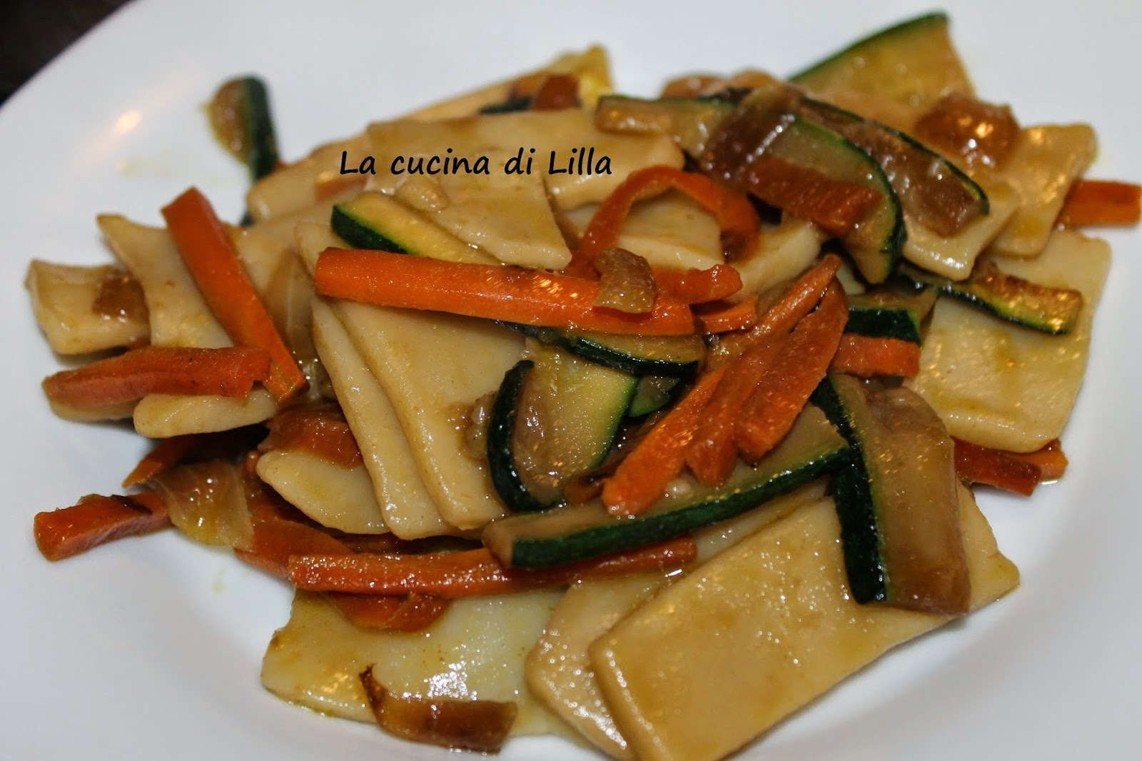 La cucina di lilla gnocchi for Ricette cinesi riso