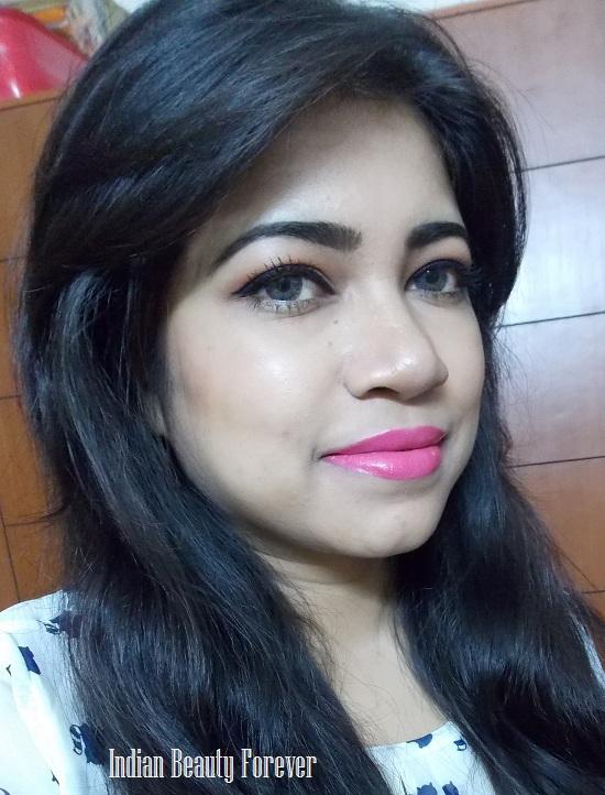 Nyx Round Lipstick Louisiana Review, swatches