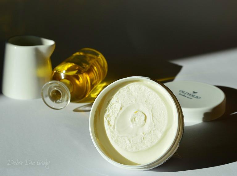 Masło do ciała z Organicznym Oślim mlekiem Olivolio