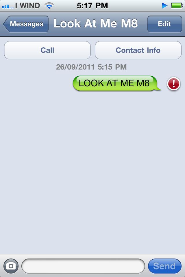 LOOK AT ME M8