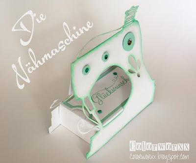 colorworxx kreativ mit stampin up in berlin geschenkverpackung n hmaschine. Black Bedroom Furniture Sets. Home Design Ideas