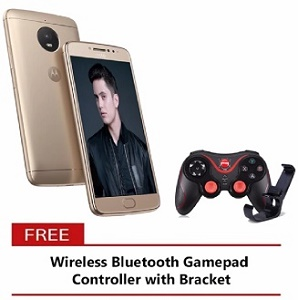 Buy Motorola Moto E4 Plus 32GB Fine Gold with Free Wireless BT Gamepad Controller online