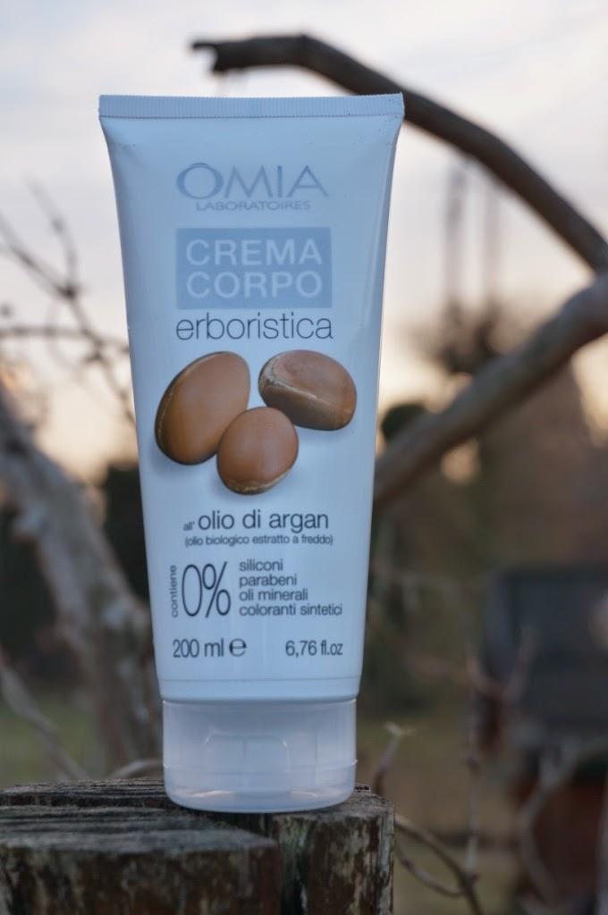 Eco bio kosmetyk - krem do ciała z olejkiem arganowym OMIA Laboratoires
