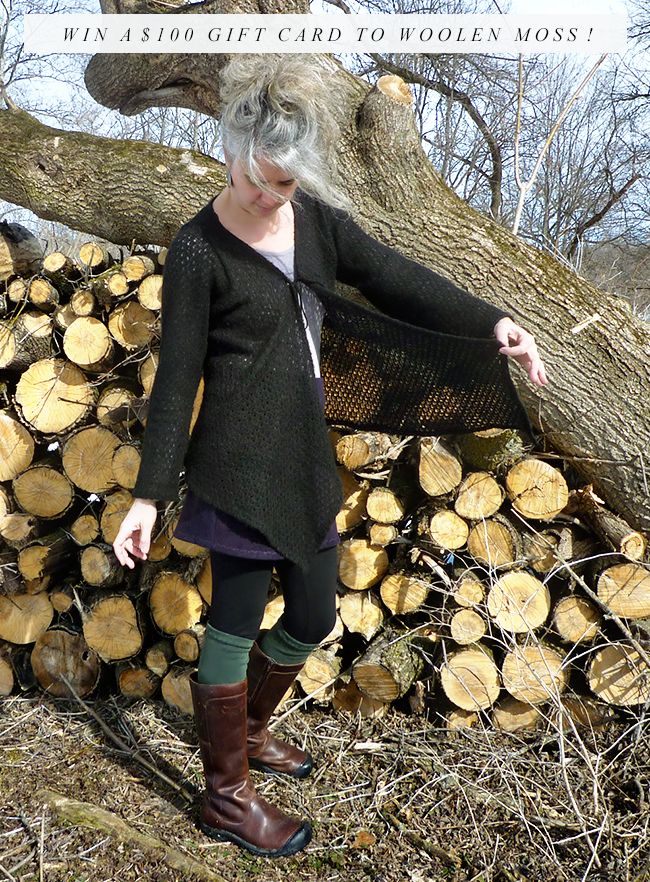 Giveaway! Win a $  100 Gift Card to Woolen Moss Organic Clothing from Bubby and Bean!