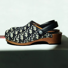 DiorQuake canvas clogs.