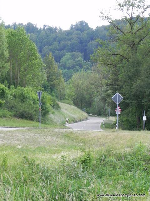 O caminho da Estrada Romântica