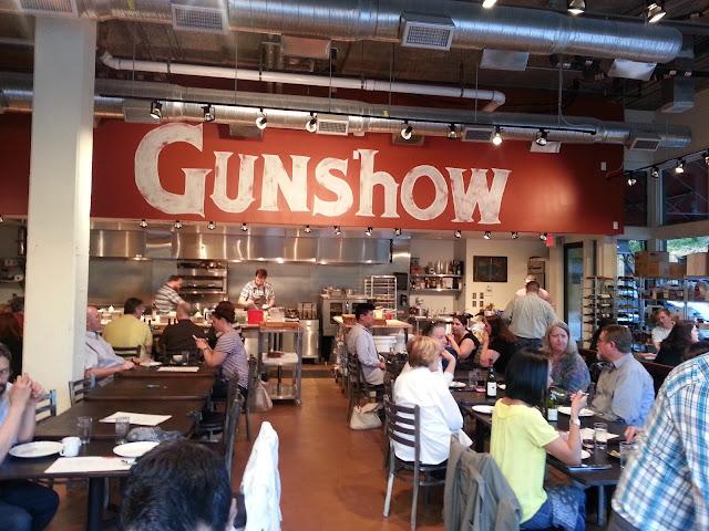 Kevin Gillespie's Atlanta restaurant Gunshow