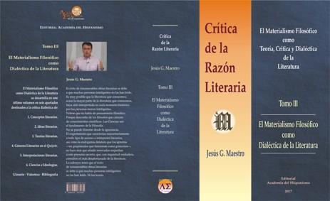 Crítica de la Razón Literaria · Tomo 3
