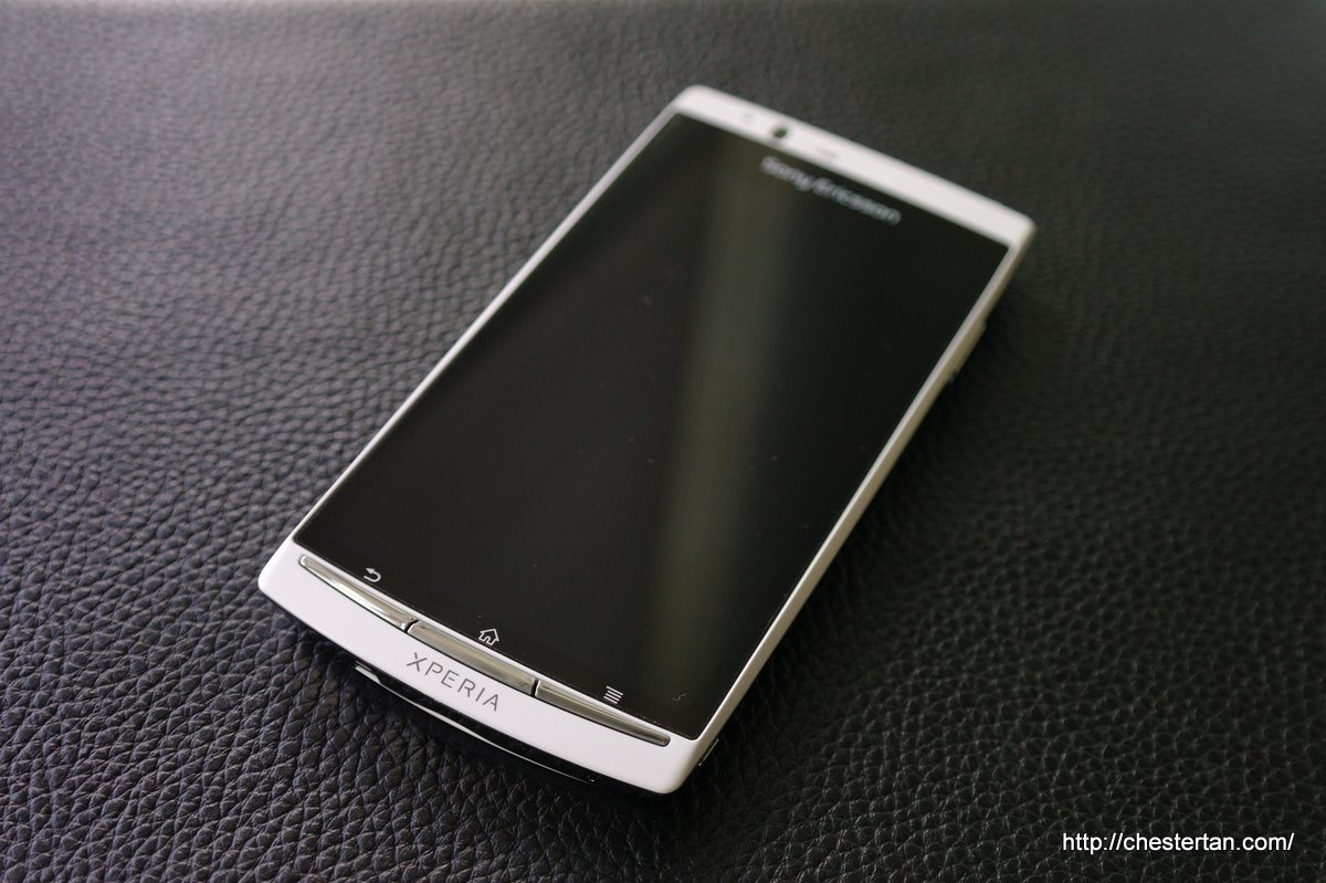 Now, there is sony ericsson xperia arc s, the phone with an arced back