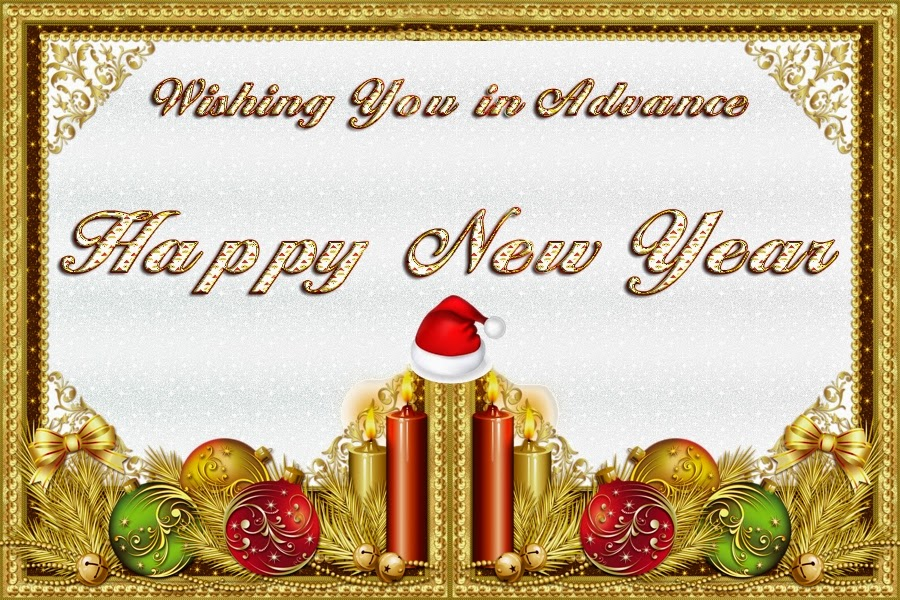 Top Class Happy New Years Advance Wishes 2015 Cards Images