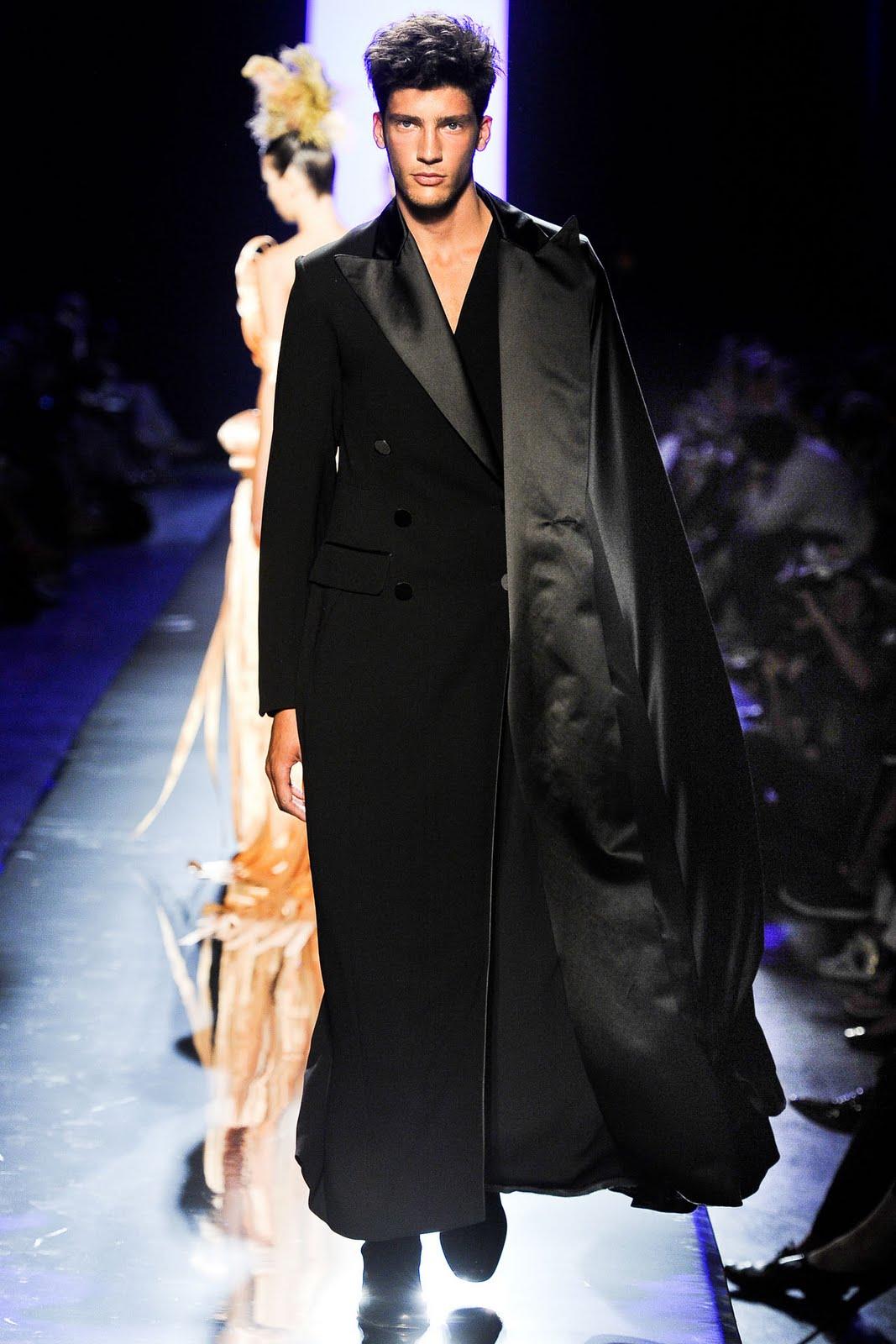 Enfant terrible teddy boy jean paul gaultier 2011 f w for Haute couture male