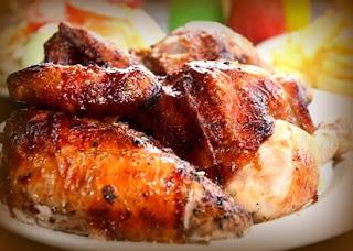 Pollo a la brasa estilo chifa