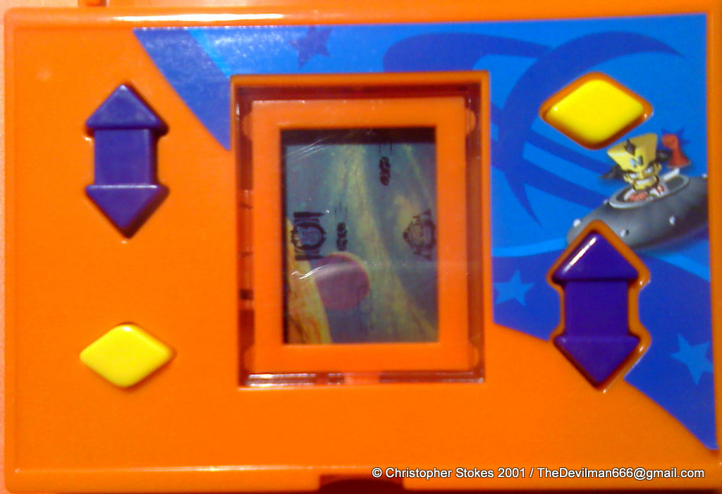 Crash Game Toy : Vintage happy meal toy lcd handheld games for sale