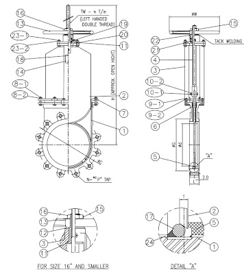 Steel Lined Metal Seat Knife Gate Valve