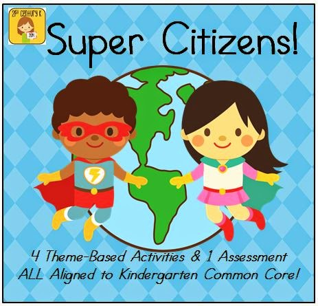 http://www.teacherspayteachers.com/Product/Kindergarten-Theme-Citizenship-1427292
