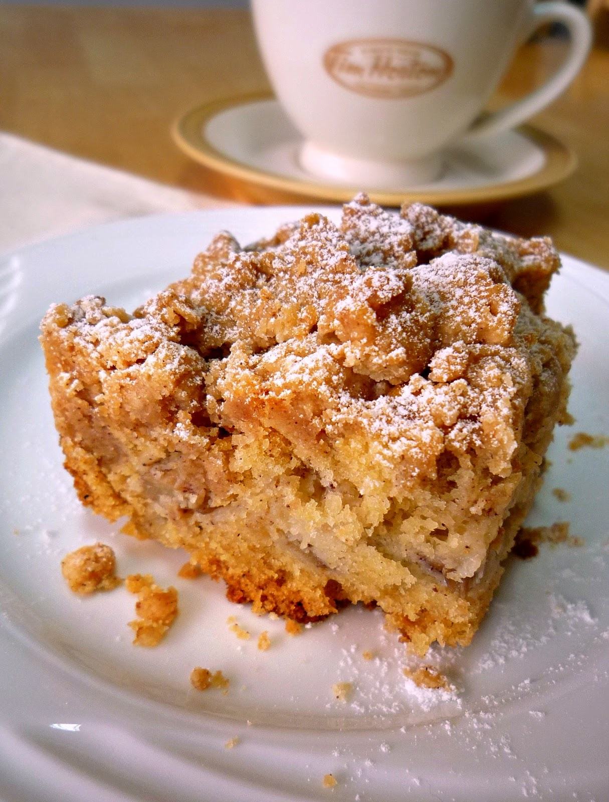 ... caramel apple and walnut coffee cake for baketogether apple topped