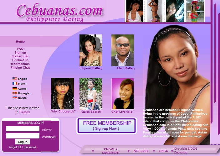 Cebuanas online dating thai