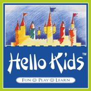 Hello Kids pre-school franchise logo