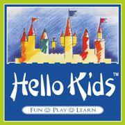 Hello Kids pre-school franchise logo