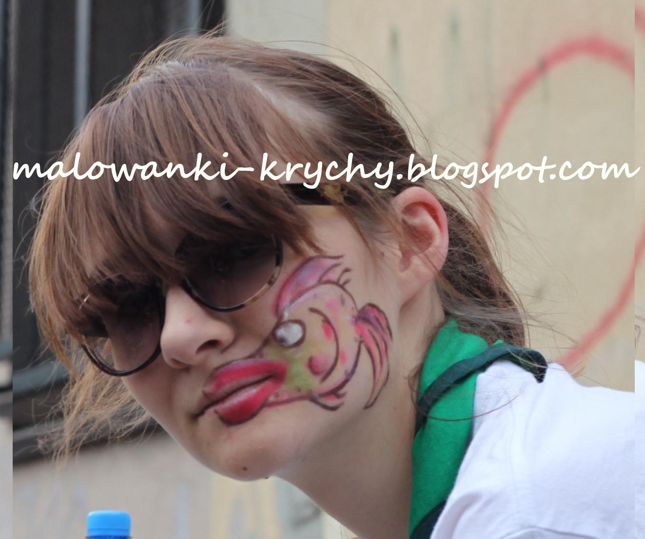 Malowanki Krychy Jak Pomalować Twarz Dziecku